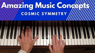 Amazing Music Concepts, Tetrachords, Tritones and Cycle of 5ths. Cosmic Symmetry