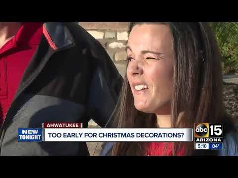 Phoenix residents battle HOA over Christmas decorations