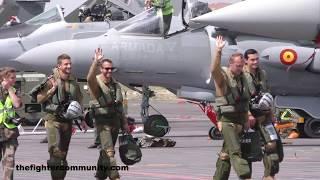 Jornada de puertas abiertas en la base aérea de los Llanos