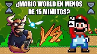 RETO #1: Terminar Mario World en menos de 15 minutos - Retro Toro