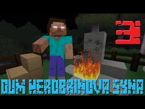 Dům herobrinova syna 3 | Český Minecraft Horror Film |