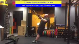 Shoulder Strength and Mobility Trailer