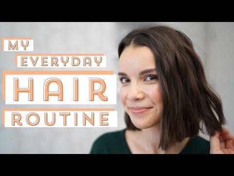 My Updated Everyday Hair Routine | Ingrid Nilsen