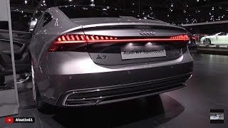Audi A7 2018   NEW FULL In Depth Review S Line Interior Exterior 2019