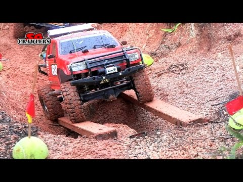 SGCrawlers Scale RC Trucks Offroad Adventures Fun Challenge AEV Jeep Brute TF2 Hilux Defender Jeep