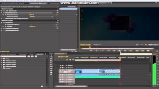 Обработка видео в Premiere Pro CS6