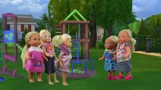 Rodzinka Barbie Pierwszy dzień w przedszkolu Bajka po polsku  the Sims 4 odc.19