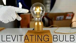 FLYTE   Levitating Light Bulb   Kickstarter   Unboxing & Demo