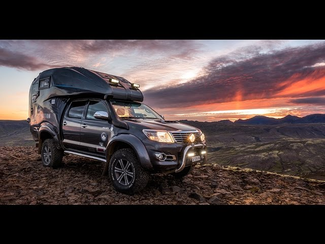 Iceland Offroad - Stefan Forster's Toyota Hilux Expedition