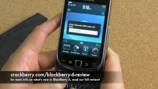 How to unlock your BlackBerry Torch 9800 with BlackBerry 6