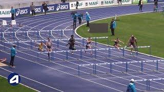 Villeneuve d'Ascq 2019 : 100 m haies (Sacha Alessandrini en 13''35)