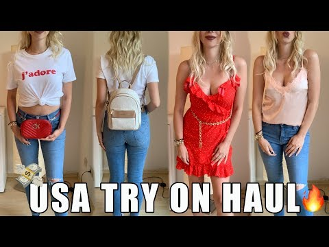 XXL USA TRY ON HAUL I CALVIN KLEIN I TOMMY HILFIGER I MICHAEL KORS I Kim Wood