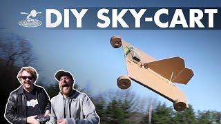 DIY SKY-CART - Maiden...flight? - Video Youtube