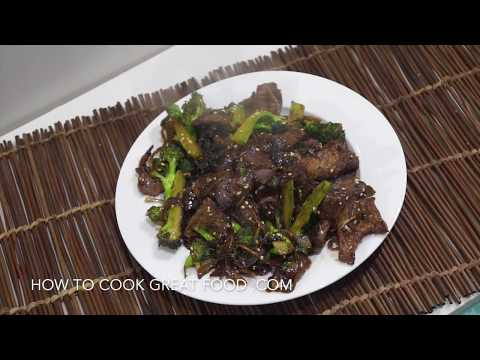 Beef Broccoli Chinese Stir Fry Recipe