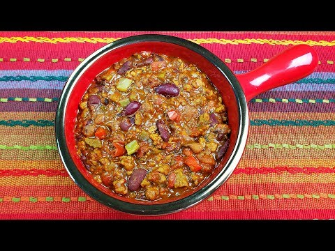Beyond Meat Recipe – The Best Vegetarian Chili Ever!!