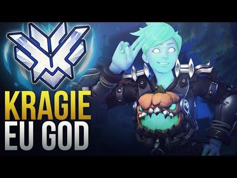 """Best Of """"Kragie"""" EU DPS GOD - Overwatch Montage"""