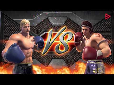 Slot Game - Cage Fight
