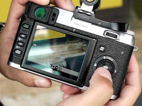 รีวิวกล้อง Fuji FinePix X100