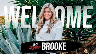 BrookeAB Joins 100 Thieves!