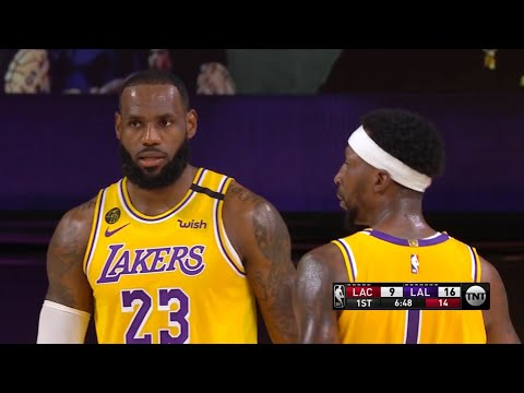 LAKERS vs CLIPPERS – 1st Qtr Highlights | NBA Restart