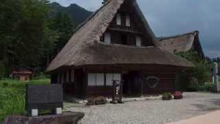 観光スポット動画集HD第10回世界遺産五箇山の合掌造り富山県南砺市