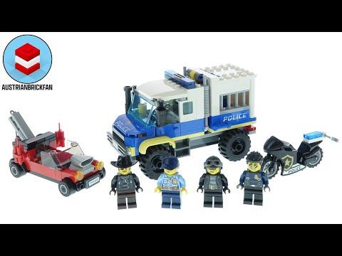 Vidéo LEGO City 60276 : Le transport des prisonniers