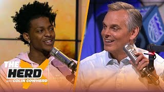 De'Aaron Fox on the challenge of defending Steph Curry & playing in Sacramento   NBA   THE HERD
