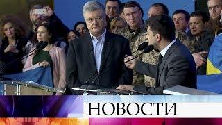 Итоги политической дуэли Порошенко и Зеленского - тема номер один на Украине.