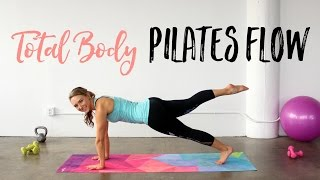 Total Body Pilates Flow Workout | The perfect 20 Minute Pilates Workout!! by The Live Fit Girl