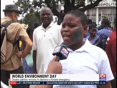 World Environment Day   The Pulse on JoyNews 20 9 19