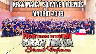 Krav Maga's Living Legends Madrid 2019 with Michael Rueppel