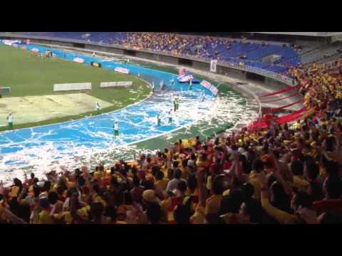 """Deportivo Pereira vs Real Santander"" Barra: Lobo Sur • Club: Pereira"