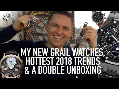 Top 3 Hottest 2018 Trends, Frederique Constant & Tudor Submariner Unboxing + My Dream Grail Watches