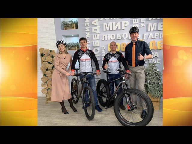 Гости программы «Новый день» Сергей Минин, Иван Аристов и Артем Детышев