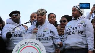 Family of Eric Garner Speaks Out at Police Brutality March