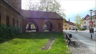 preview picture of video 'Templin (Uckermark); a walk in a walled city'