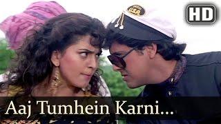 Aaj Tumhein Karni Hai Kaskar - Govinda - Juhi Chawla - Karz