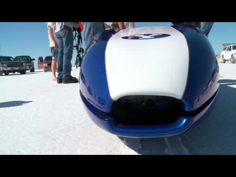 Students Break Electric Car Land Speed Record In Salty Blur