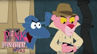 Super Secret Spy Pink Panther v. Big Nose! | 56 Min Compilation | Pink Panther and Pals