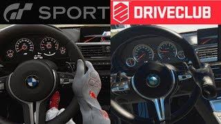 VR COMPARISON | Gran Turismo Sport VS Driveclub | Comparativa VR