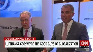 Lufthansa CEO: Airlines are 'good guys' of globalization