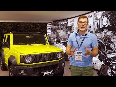 Suzuki  Jimny Внедорожник класса J - тест-драйв 2