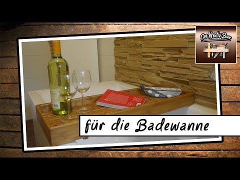 DIY Deutsch  | für die Badewanne | Holz