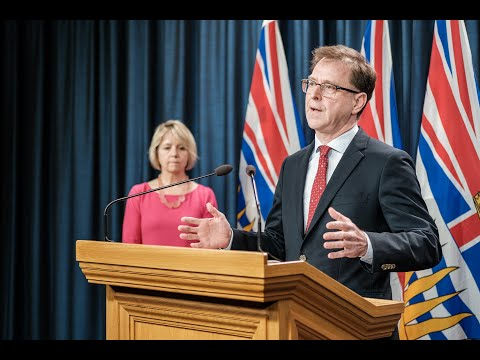 Adrian Dix, Minister of Health, and Dr. Bonnie Henry, B.C.'s provincial health officer, have issued the following joint statement regarding updates on the novel coronavirus (COVID-19) response in British Columbia: