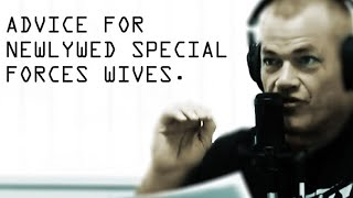 Jocko's Advice for Newlywed Special Operations Forces Wives - Jocko Willink