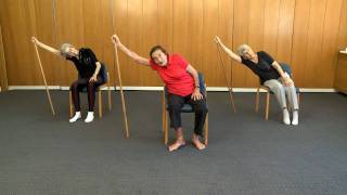 Senior Fitness - 99 year old keep fit teacher - Lesson 1 by Ori Weiser