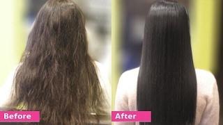 Luruskan Rambut Secara Permanen Menggunakan Bahan Alami