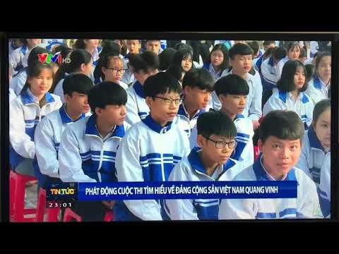 """Lễ phát động cuộc thi tìm hiểu """"Đảng cộng sản Việt Nam Quanh vinh, Bác Hồ vĩ đại, quê hương đất nước đổi mới"""""""