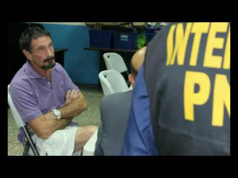 John McAfee Indicted for Tax Evasion, Arrested In Spain