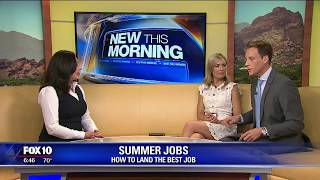 Tips on how to land a summer job
